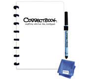 CORRECTBOOK A5 BLANCO WIT