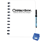 CORRECTBOOK A4 BLANCO WIT