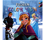 KLEUR/TEKENBOEK DELTAS DISNEY FROZEN COLOR FUN