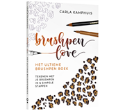 HANDBOEK ULTIEME BRUSHPENBOEK BRUSHPEN LOVE