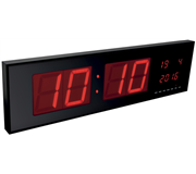 WANDKLOK PEREL MET LED-DISPLAY