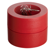 PAPERCLIPHOUDER MAUL 30123 MAGNETISCH 6CM ROOD