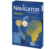 KOPIEERPAPIER NAVIGATOR OFFICE CARD A4 160GR WIT