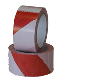 TAPE BUDGET SIGNALERINGS 50MMX66M ROOD WIT