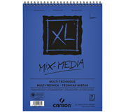 AQUARELBLOK CANSON XL MIX MEDIA A5 300GR 15V SPIR