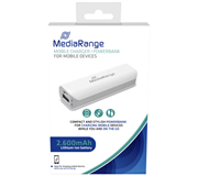 POWERBANK MEDIARANGE MOBILE CHARGER 2600MAH