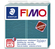 KLEI FIMO STAEDTLER LEATHER EFFECT 57GR LAGUNE