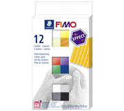 KLEI FIMO STAEDTLER EFFECT COLOUR ASSORTI