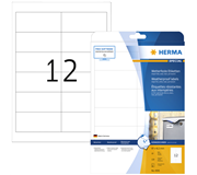 ETIKET HERMA 4595 970X423MM A4 POLYESTER WIT