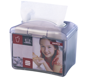 DISPENSER KATRIN 22564 SERVETTEN EASY1 TRANSPARANT