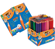 Kleurpotlood Bic Kids Evolution Schoolbox 288st ass