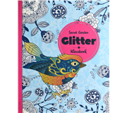 Kleurboek Interstat glitter thema Secret Garden