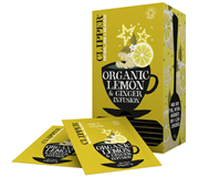 Clipper Infusion Lemon and Ginger BIO