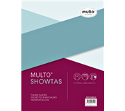 SHOWTAS MULTO A4 23R PP 0.14MM GLAD