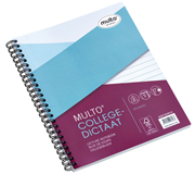 COLLEGEDICTAAT MULTO 17R LIJN 80GR 80V