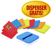 MEMOBLOK 3M POST-IT Z-NOTE R330 + DISPENSER