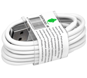 KABEL GREEN MOUSE USB LIGHTNING-A 1METER WIT