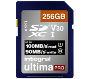 GEHEUGENKAART INTEGRAL SDXC V30 256GB
