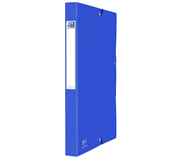 ELASTOBOX OXFORD EUROFOLIO A4 25MM BLAUW