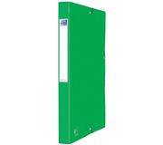 ELASTOBOX OXFORD EUROFOLIO A4 25MM GROEN