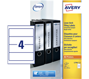 RUGETIKET AVERY L7701-25 192X62MM 100ST