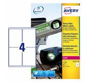 ETIKET AVERY L4774-20 99.1X139MM POLYESTER 80ST