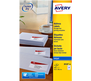 ETIKET AVERY J8160-25 63.5X38.1MM 525ST