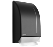 DISPENSER SATINO BLACK 331930 VOUWHANDDOEK