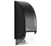 DISPENSER SATINO BLACK 331940 TOILETPAPIER
