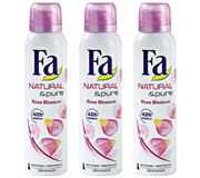 DEODORANT FA NATURAL & PURE ROSE LIGHT