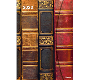 AGENDA 2020 ANTIQUE BOOKS MAGNETO DIARY 16X22