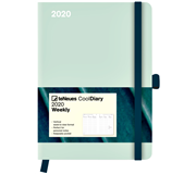 AGENDA 2020 COOL DIARY GREENY MINT LEAF 16X22