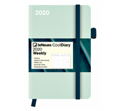 AGENDA 2020 COOL DIARY GREENY MINT LEAF 10X15