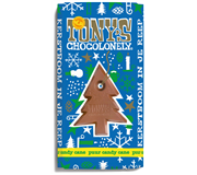 TONY'S CHOCOLONELY PUUR MINT CANDY CANE 180GR