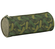 ETUI MIXED DESIGNS CAMOUFLAGE ROND 23CM