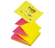 MEMOBLOK 3M POST-IT Z-NOTE N330 NEON ROZE/GEEL