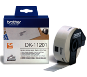 LABEL ETIKET BROTHER DK-11201 29MMX90MM ADRES WIT