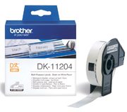 LABEL ETIKET BROTHER DK-11204 17MMX54MM WIT
