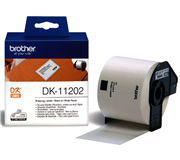 LABEL ETIKET BROTHER DK-11202 62MMX100MM VERZ WIT