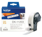 LABEL ETIKET BROTHER DK-11203 17MMX87MM WIT