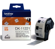 LABEL ETIKET BROTHER DK-11221 23MMX23MM WIT