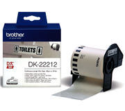 LABEL ETIKET BROTHER DK-22212 62MMX15.24M WIT