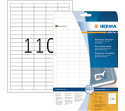 ETIKET HERMA 4210 MOVABLE A4 38.1X12.7MM 2750ST WT