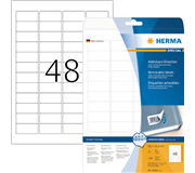 ETIKET HERMA 4346 45.7X21.2MM MOVABLE A4 1200ST WT