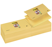 MEMOBLOK 3M POST-IT Z-NOTE S350 STICKY GEEL