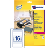ETIKET AVERY L7674-25 145X17MM VIDEO 400ST