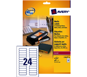 ETIKET AVERY DATA L7665-25 72X21.2MM 600ST