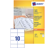 ETIKET AVERY DP010-100 105X58MM 1000ST