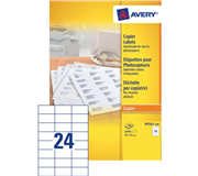 ETIKET AVERY DP247-100 70X37MM 2400ST