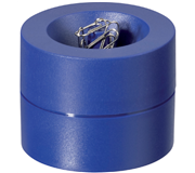 PAPERCLIPHOUDER MAUL 30123 MAGNETISCH 6CM BLAUW